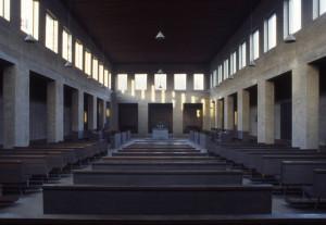 Kerk van de abdij Sint-Benedictusberg te Vaals (foto Maarten Brinkgreve)