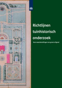 Richtlijnen tuinhistorisch onderzoek