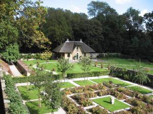 Ontwerp voor de voormalige moestuin, Landgoed De Keukenhof te Lisse.