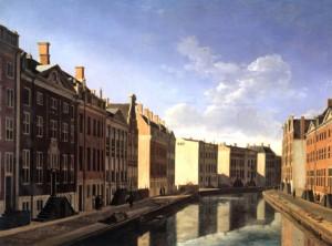 G. Berckheyde, Grote bocht in de Herengracht te Amsterdam (1672), coll. Rijksmuseum