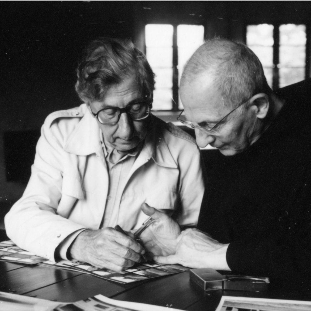 afb. 4 De broers Nico (links) en Hans (rechts) Van der Laan (foto: Frans de la Cousine)
